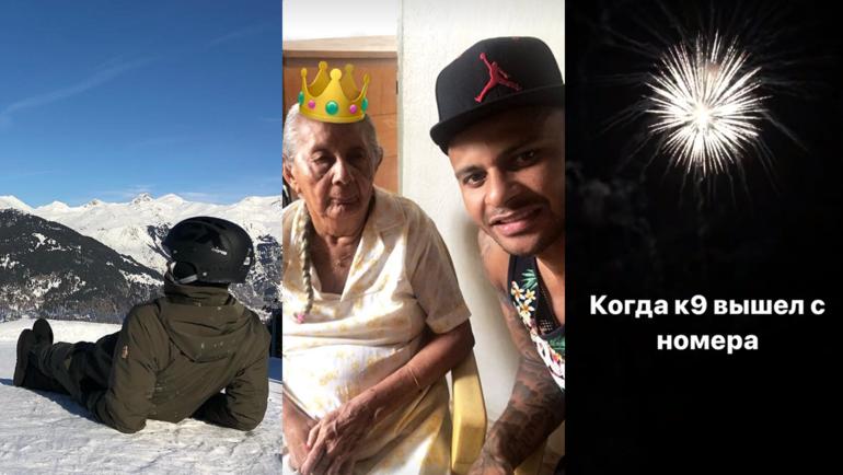 Федор СМОЛОВ, АРИ с бабушкой и фото Александра КОКОРИНА. Фото instagram.com/