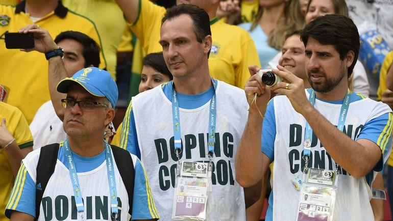 Допинг-офицеры. Фото AFP