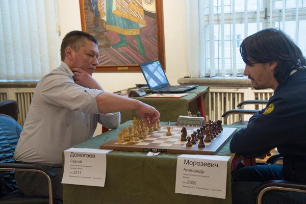 Сергей ДОМОГАЕВ (слева) и Александр МОРОЗЕВИЧ.