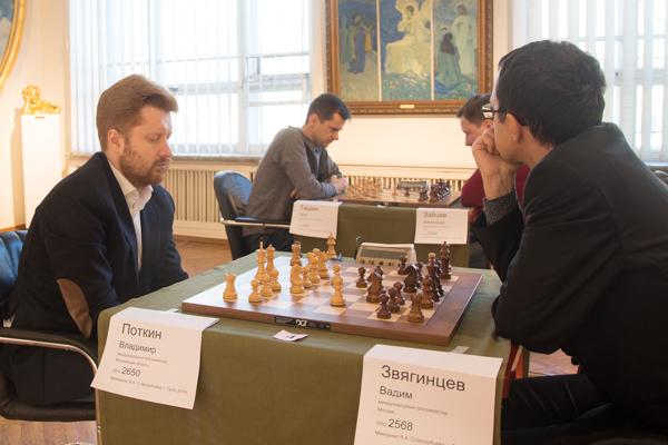 Владимир ПОТКИН (слева) и Вадим ЗВЯГИНЦЕВ.