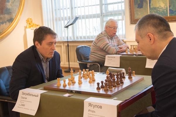Сергей ЗАГРЕБЕЛЬНЫЙ (слева) и Игорь ЯГУПОВ.
