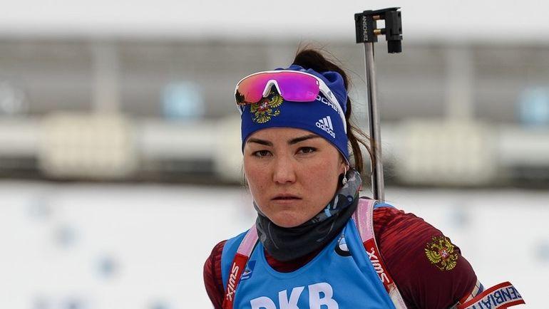 Татьяна АКИМОВА финишировала на 21-м месте. Фото Biathlonrus.com