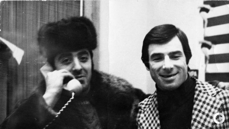 """Валерий ХАРЛАМОВ (справа) и обозреватель """"СЭ"""" Александр ЛЬВОВ."""