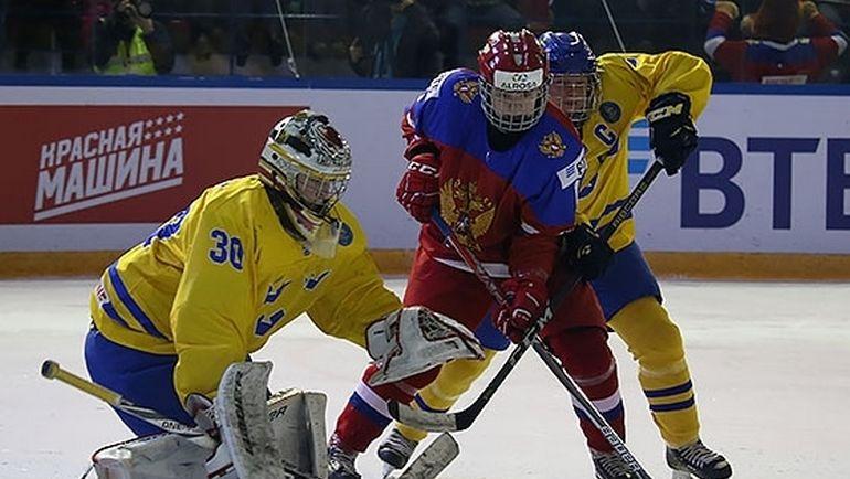 Женская сборная РФ проиграла Швеции вполуфинале молодёжногоЧМ похоккею