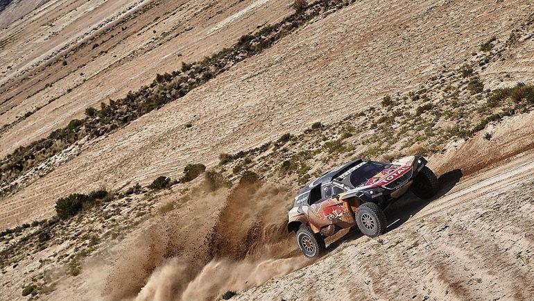 Peugeot Карлоса Сайнса.