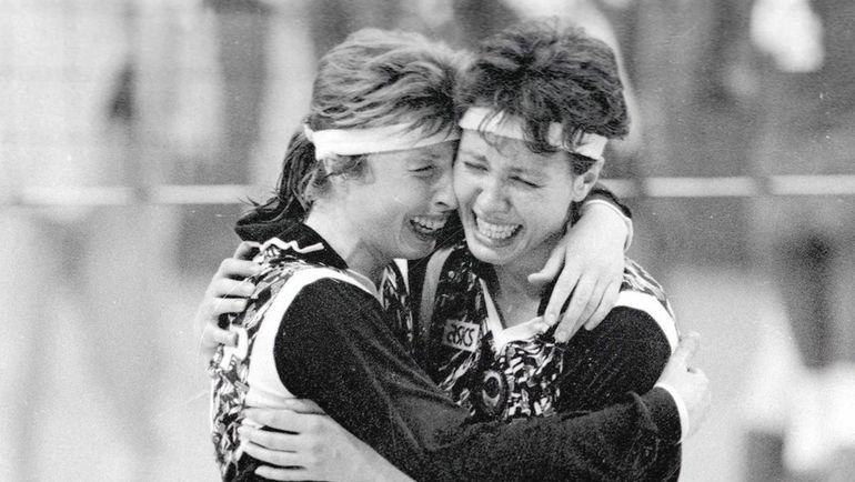 1988 год. Победа советских волейболисток на Олимпиаде в Сеуле. Фото Федор АЛЕКСЕЕВ