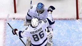 Кучеров, Овечкин и Василевский - главные претенденты на индивидуальные призы НХЛ