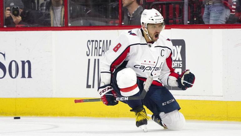 Александр ОВЕЧКИН. Фото James Guillory-USA TODAY Sports