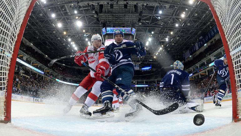 Кто завоюет путевки в плей-офф? Фото Юрий КУЗЬМИН, photo.khl.ru