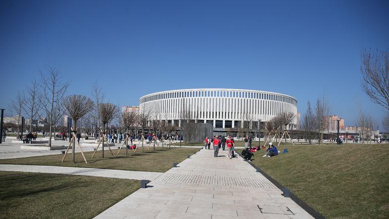 """Стадион """"Краснодара"""". Фото Виталий ТИМКИВ"""
