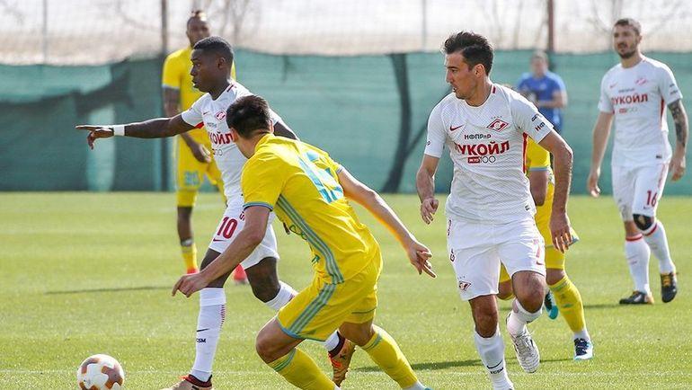 «Спартак» проиграл и 2-ой свой товарищеский матч
