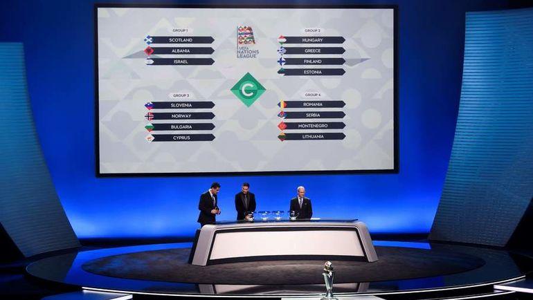 Соперниками сборной Российской Федерации вЛиге Наций стали Турция иШвеция