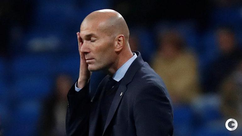 "Вчера. Мадрид. ""Реал"" - ""Леганес"" - 1:2. Зинедин ЗИДАН."