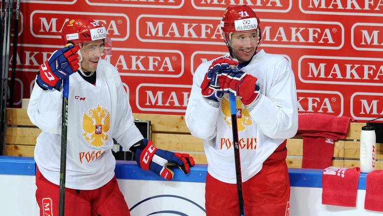 Павел ДАЦЮК и Илья КОВАЛЬЧУК. Фото Алексей ИВАНОВ