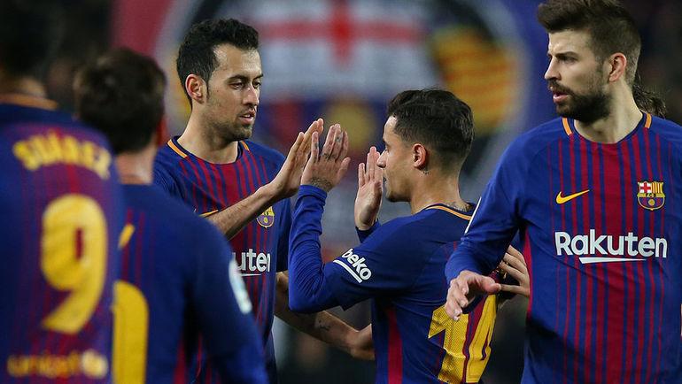 "Вчера. Барселона. ""Барселона"" - ""Эспаньол"" - 2:0."