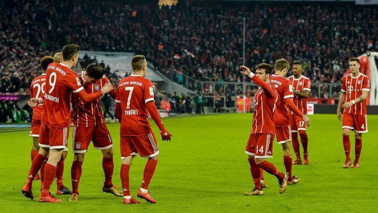 "Футболисты ""Баварии"". Фото REUTERS"