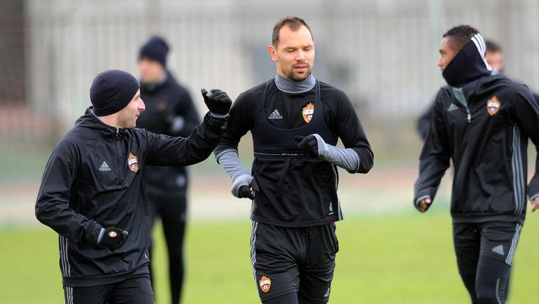 Зоран ТОШИЧ и Сергей ИГНАШЕВИЧ. Фото Алексей ИВАНОВ