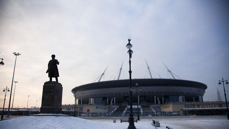 "Стадион ""Санкт-Петербург"". Фото Анна МЕЙЕР/ФК ""Зенит"""