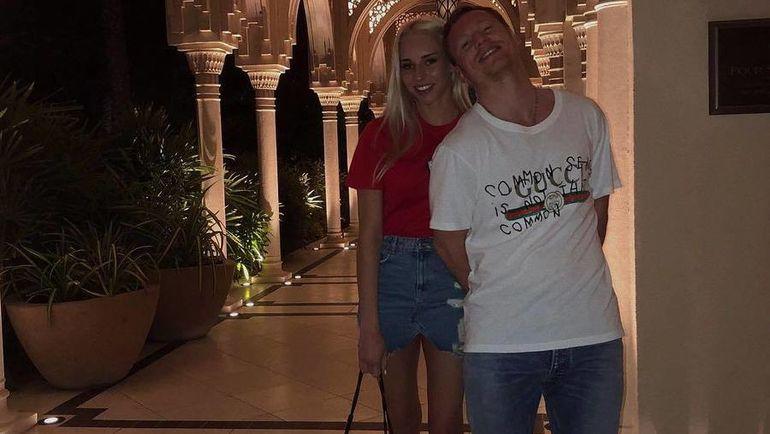 Яна КУДРЯВЦЕВА и Дмитрий КУГРЫШЕВ. Фото instagram.com/
