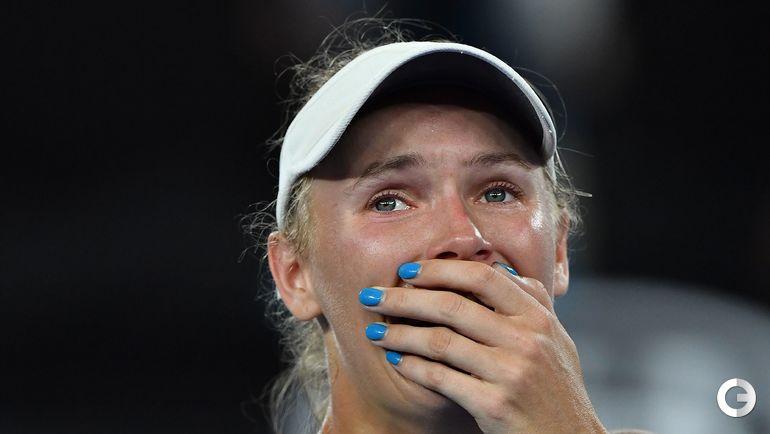 Сегодня. Мельбурн. Финал Australian Open. Каролин ВОЗНЯЦКИ.