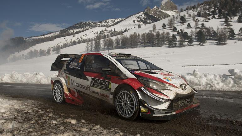 "Toyota Gazoo Racing WRT в ""Монте-Карло""."