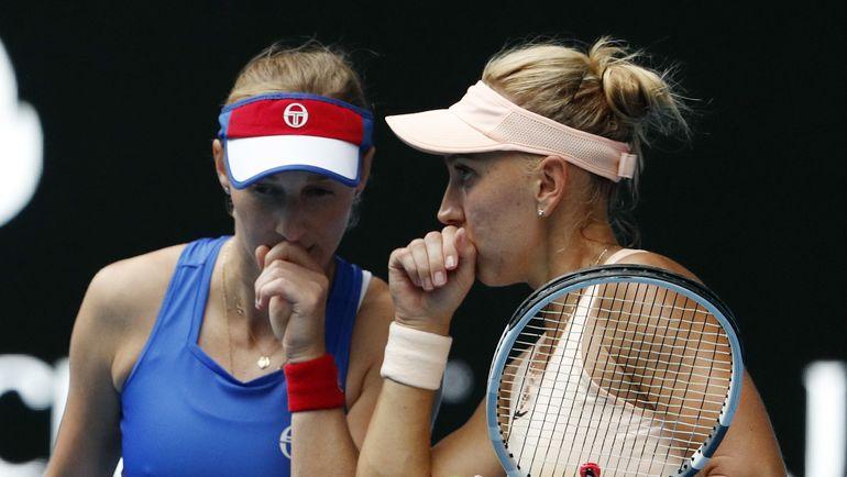 Екатерина МАКАРОВА и Елена ВЕСНИНА. Фото REUTERS