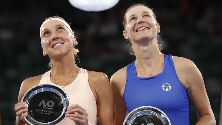Елена ВЕСНИНА и Екатерина МАКАРОВА. Фото REUTERS
