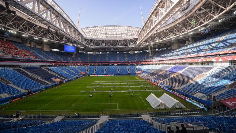 "Стадион ""Санкт-Петербург"". Фото Дарья ИСАЕВА, ""СЭ"""