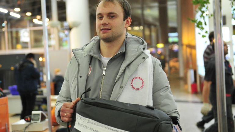 "Семен ПАВЛИЧЕНКО и его рюкзак. Фото Федор УСПЕНСКИЙ, ""СЭ"""