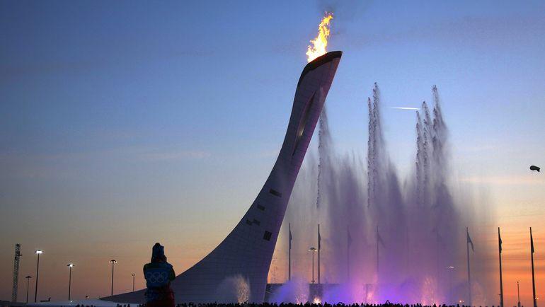 Олимпийский огонь в Сочи. Фото REUTERS