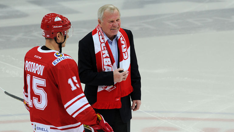 Борис МАЙОРОВ (справа). Фото Алексей ИВАНОВ