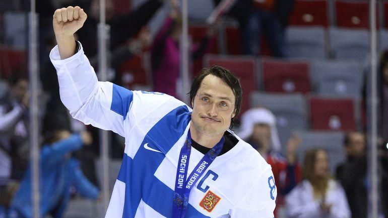 Теему СЕЛЯННЕ с бронзовой медалью Олимпиады-2014. Фото AFP