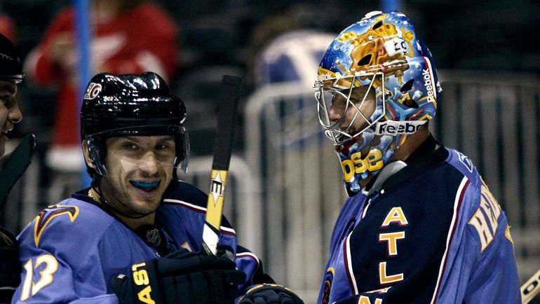 Вячеслав КОЗЛОВ (слева). Фото REUTERS