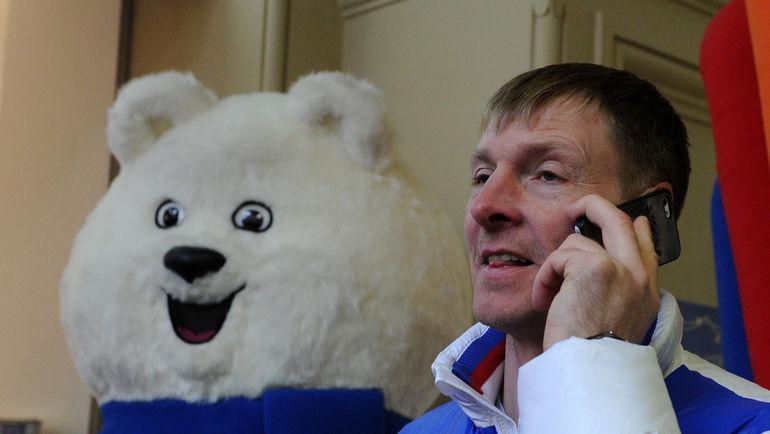 Глава Федерации бобслея России Александр ЗУБКОВ. Фото Никита УСПЕНСКИЙ