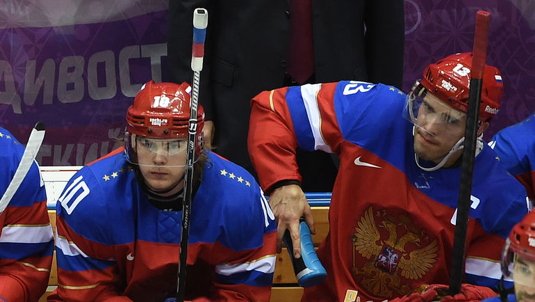 "Виктор ТИХОНОВ (слева) и Павел ДАЦЮК. Фото Александр ФЕДОРОВ, ""СЭ"""