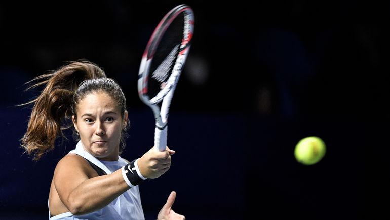 Дарья Касаткина уступила Младенович путевку вфинал турнира в северной столице