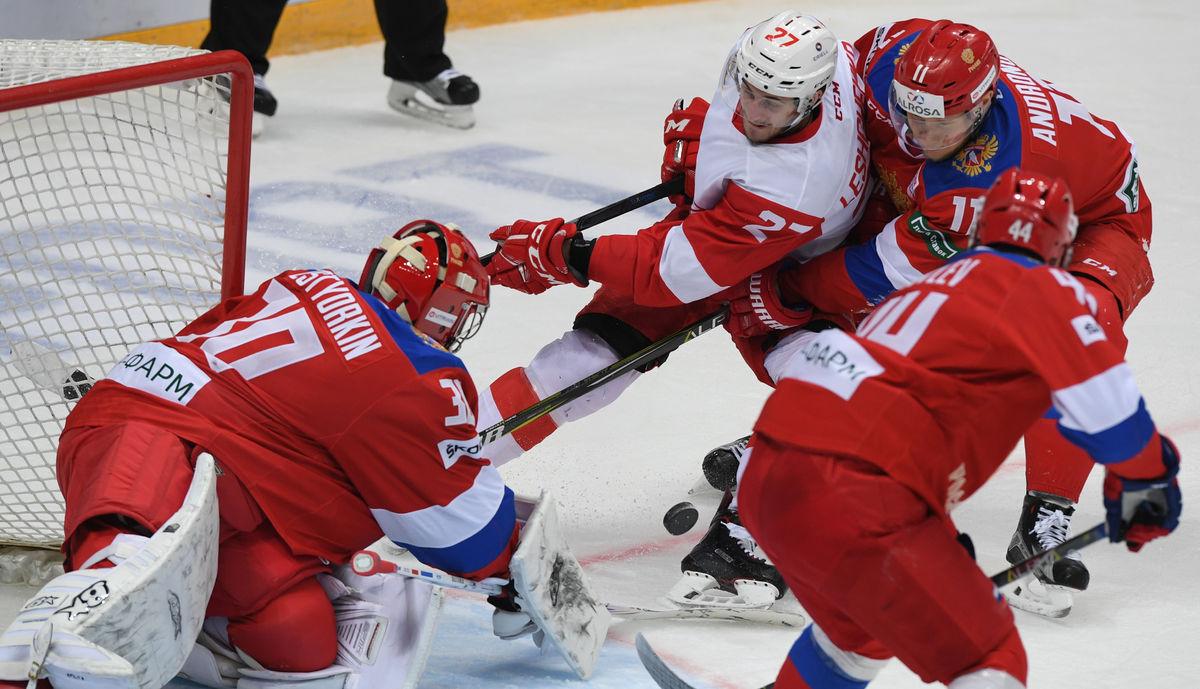 Хоккей Россия – Чехия: 8 сентября Выставочный матч Россия – Чехия