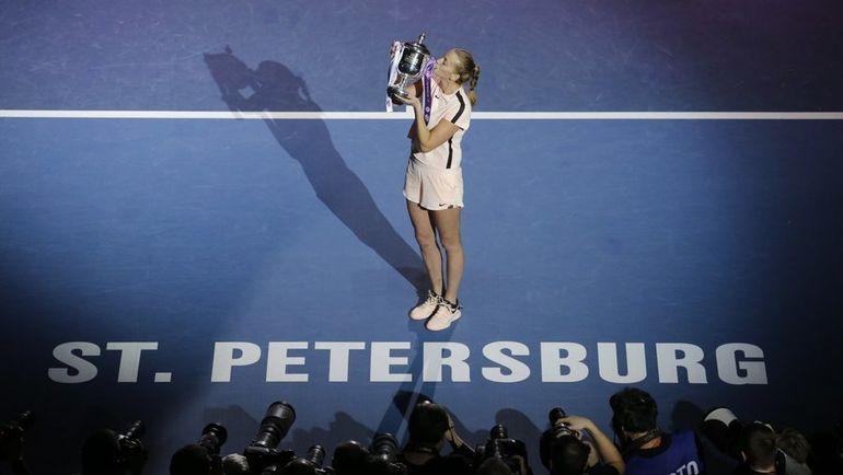 Сегодня. Санкт-Петербург. Петра КВИТОВА. Фото St. Petersburg Ladies Trophy, twitter.com/formula_tx