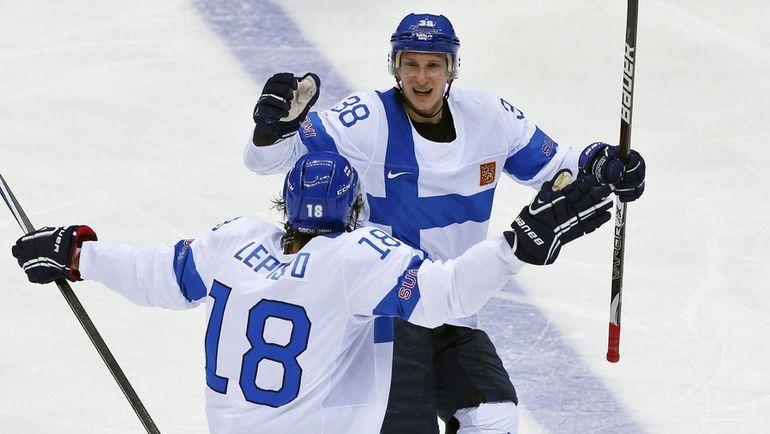 Сами ЛЕПИСТО и Юусо ХИЕТАНЕН. Фото AFP