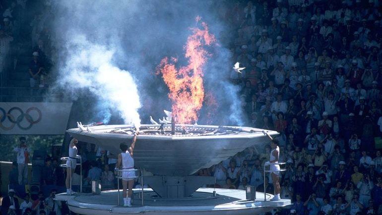 Открытие Олимпиады-1988.