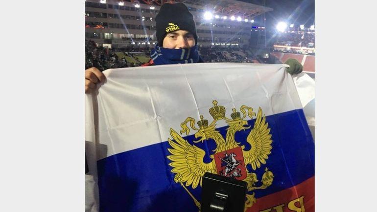Американец Филип ВАХУДА на открытии Игр. Фото RT