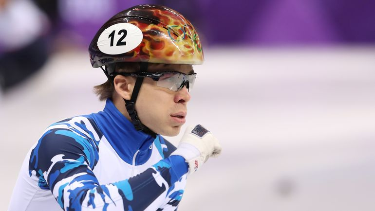 Семен ЕЛИСТРАТОВ - первый в полуфинале. Фото REUTERS