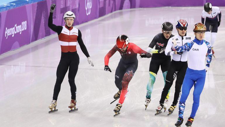 Семен ЕЛИСТРАТОВ был первым в полуфинале. Фото REUTERS