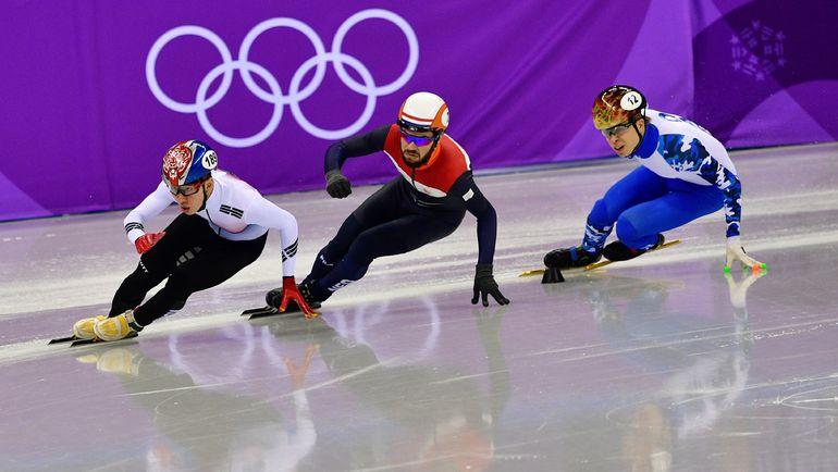 Семен ЕЛИСТРАТОВ - в финальном забеге. Фото AFP