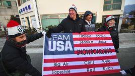 Россиянка - за США, американец - за Россию