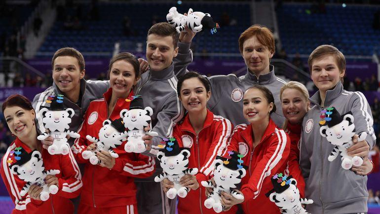 Канадцы выиграли командный турнир уфигуристов, ужителей российской федерации - 2-ая медаль наОлимпиаде