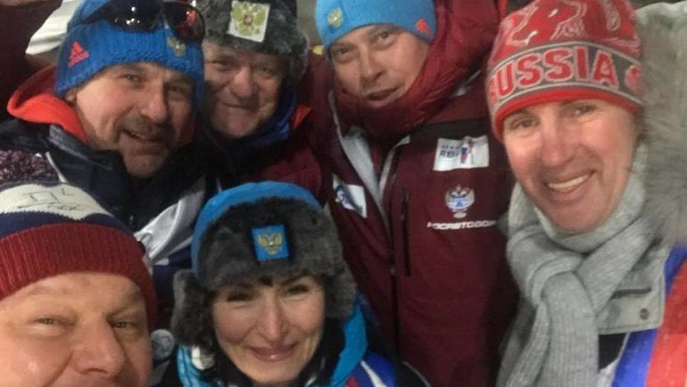 Сегодня. Пхенчхан. Владимир ШИПУЛИН (слева в верхнем ряду). Фото instagram.com/guberniev_dmitry/