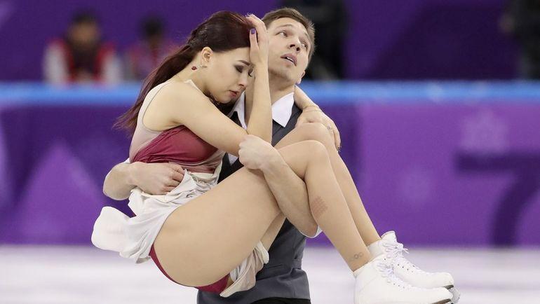 Сегодня. Пхенчхан. Екатерина БОБРОВА и Дмитрий СОЛОВЬЕВ. Фото REUTERS