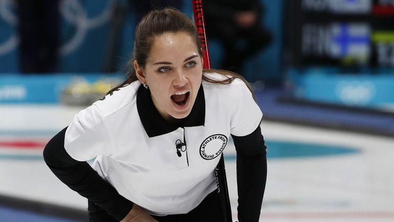 Анастасия БРЫЗГАЛОВА в матче с США. Фото REUTERS