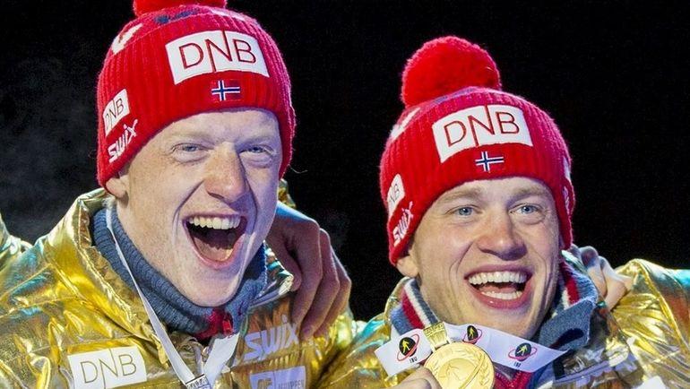 Тарьяй и Йоханнес БЕ. Фото AFP